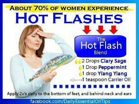 Hot Flash Essential Oil Blend