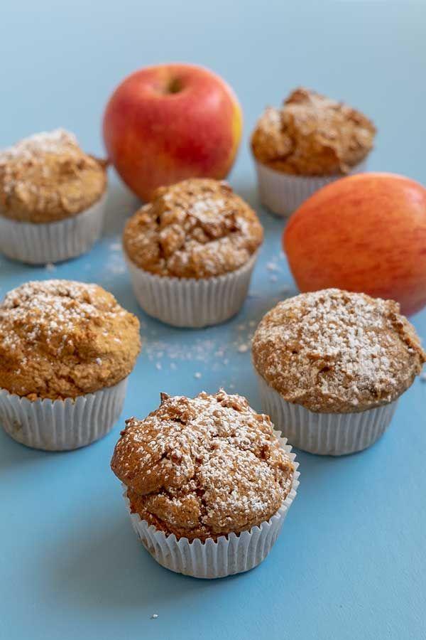 Paleo Apple Cinnamon Muffins Grain Free Gluten Free Dairy Free