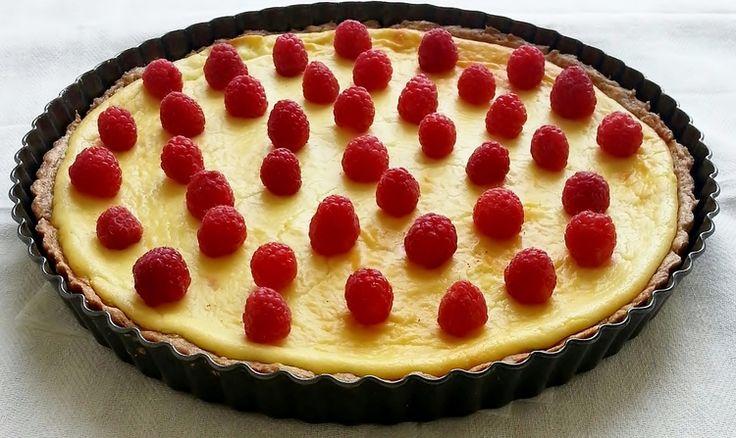 Raspberry & Honey Goat Cheese Tart — Butter & Sea Salt
