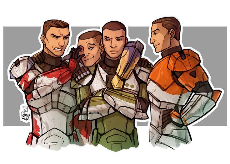 Republic Commando - Delta squad by lorna-ka.deviantart.com on @DeviantArt