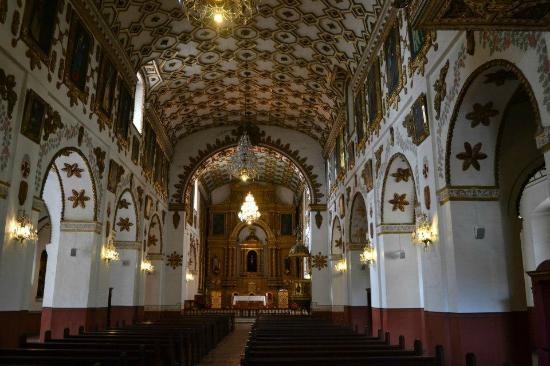 Colombia - Interior de la iglesia de la Candelaria, Bogotá D.C.