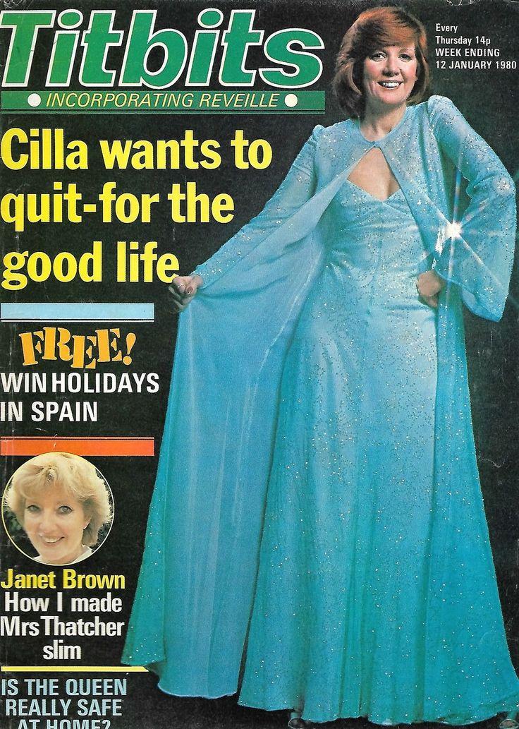 TITBITS January 1980 Magazine Cilla Black Janet Brown Deryck Guyler Tom Bosley…