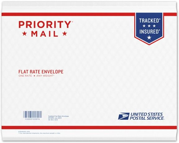Priority Mail Padded Flat Rate Envelope Pack Of 10 Priority