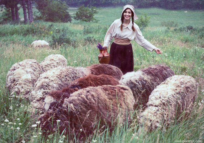 shepherdess by NataliaCiobanu.deviantart.com on @deviantART