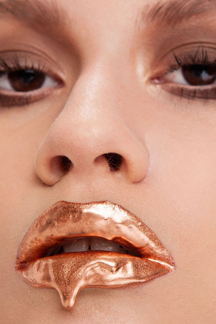 """Lip Art Like You've Never Seen It Before #refinery29  http://www.refinery29.com/2016/03/105601/vlada-haggerty-instagram-makeup-interview#slide-6  """"At first, people thought it was strange, and it is kind of strange,"""" Haggerty admits. """"But there is something about capturing that frozen moment that you can keep forever."""" Amid the praise, Haggerty is quick to say that she is not the creator of the dripping lip editorial look. """"It's not my contribution,"""" she says. """"People have done it before. My…"""