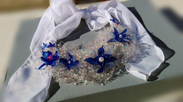 Collar de flores de invierno de Regalosuerte en Etsy