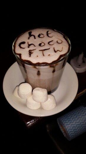 How I Make hot chocolate