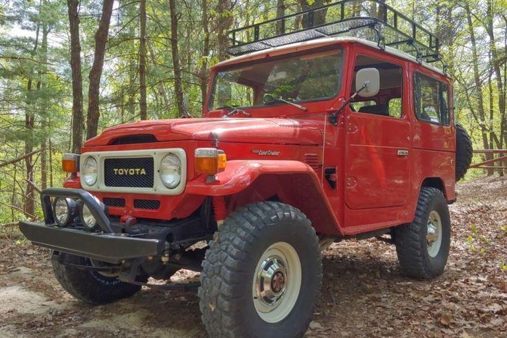 BaT Auction: 1979 Toyota Land Cruiser FJ40