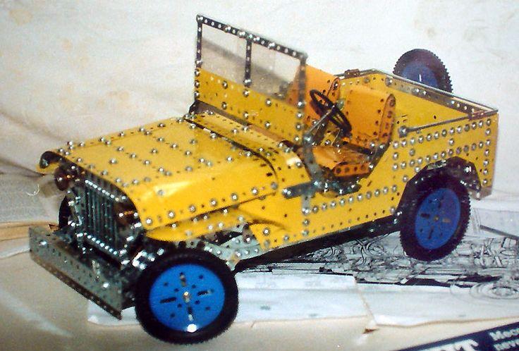 Meccano Jeep - I like this!