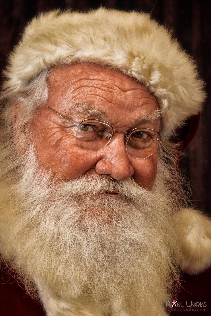 Santa Portrait - It's the real thing... by Danny Collado on 500px