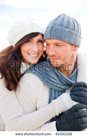 love winter couple
