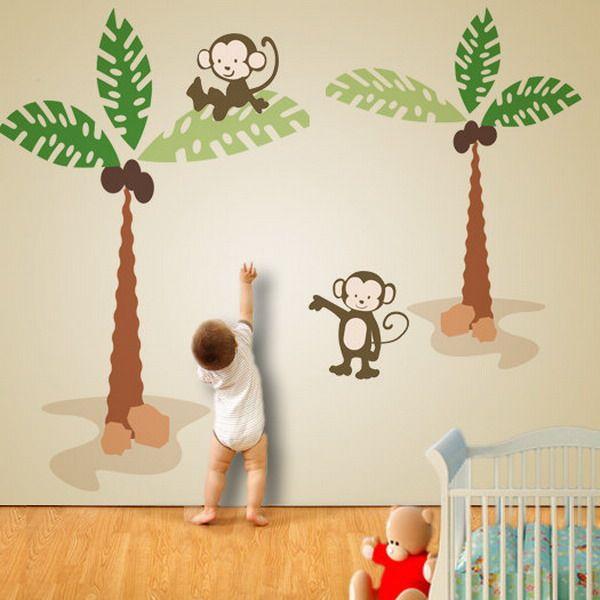 Best Gender Neutral Nursery Ideas Images On Pinterest - Nursery wall decals gender neutral