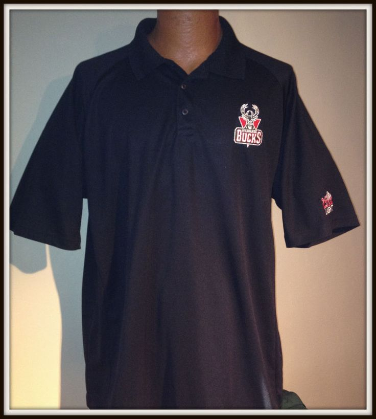 MILWAUKEE BUCK COORS LIGHT PORT AUTHORITY SPORT TEK POLO GOLF SHIRT ADULT XLARGE #PortAuthority #MilwaukeeBucks