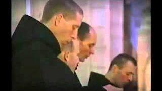 Benedictine monks of Norcia. Gregorian chant CD https://www.youtube.com/watch?v=nTQTFW1Gdbs