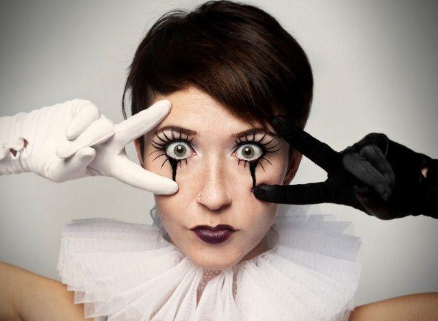 Макияж на Хэллоуин | Страшный макияж на Хэллоуин фото