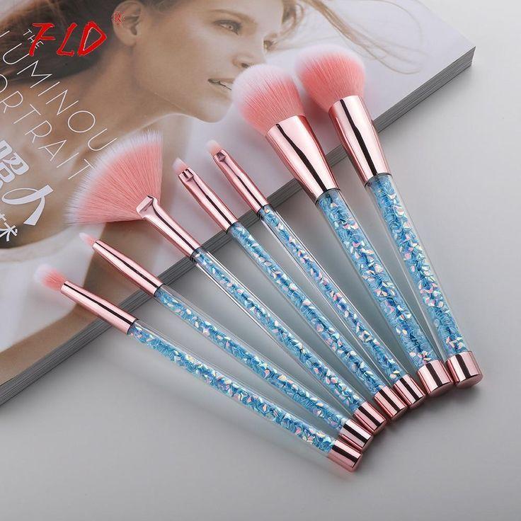 Makeup Brushes Aesthetic Makeup Tools In 2020 Makeup Brush Set Unicorn Makeup Brushes Face Makeup Brush