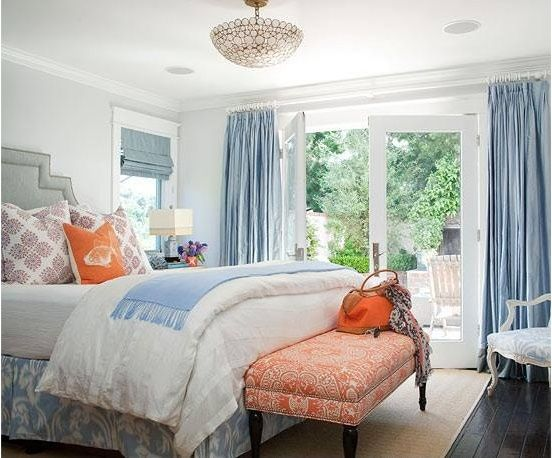 use orange as an accent color or go crazy and center an entire room around this bold color discover how you can mix and match blue yellow purple green