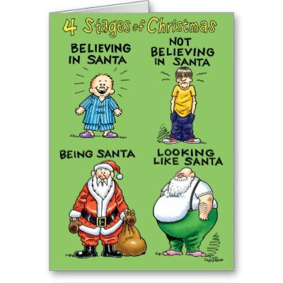 11 best images about funny santa cards on pinterest for Santa cards pinterest