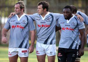 Natal Sharks Front Row