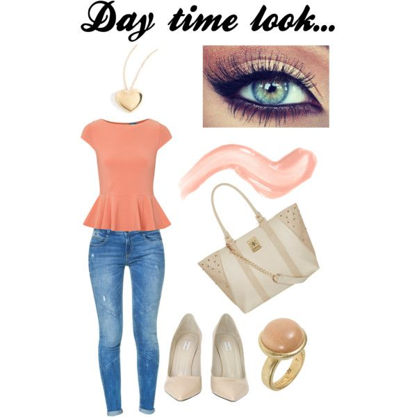 Day time look_polyvore
