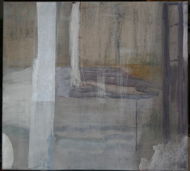 White Landscape, 2006, oil on linen, 50x55