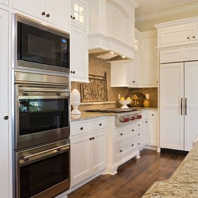 Double Oven And Microwave Stacked Combo Google Search