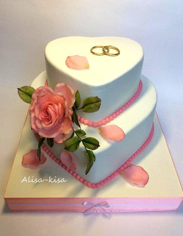 Свадебные торты. | 257 фотографий