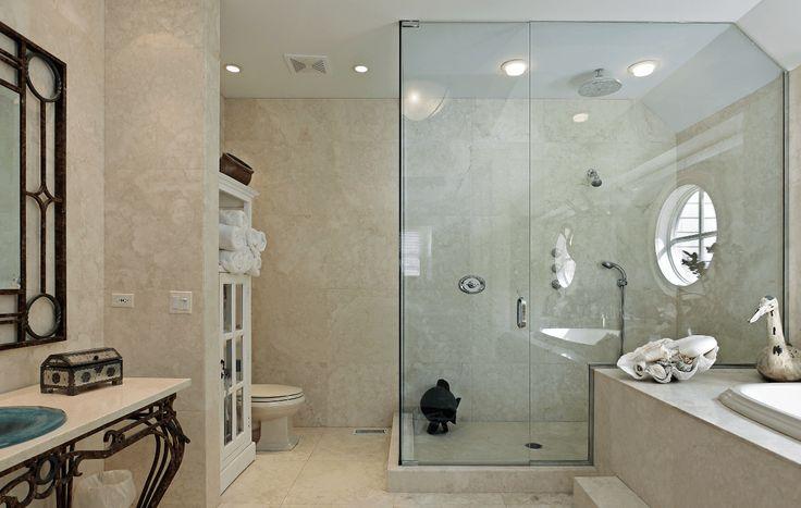 Die besten 17 ideen zu marmor duschen auf pinterest for Luxus shower doors