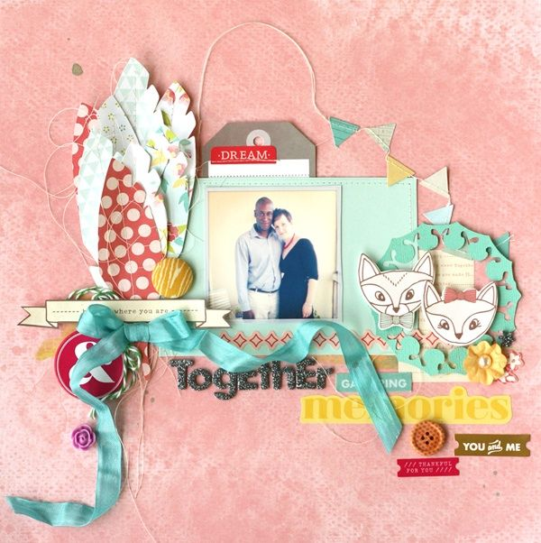 Mix Vintage Looks With Modern Punch on Your Scrapbook Pages | Scrapbook Page by Leah Farquahrson | GetItScrapped.com/blog
