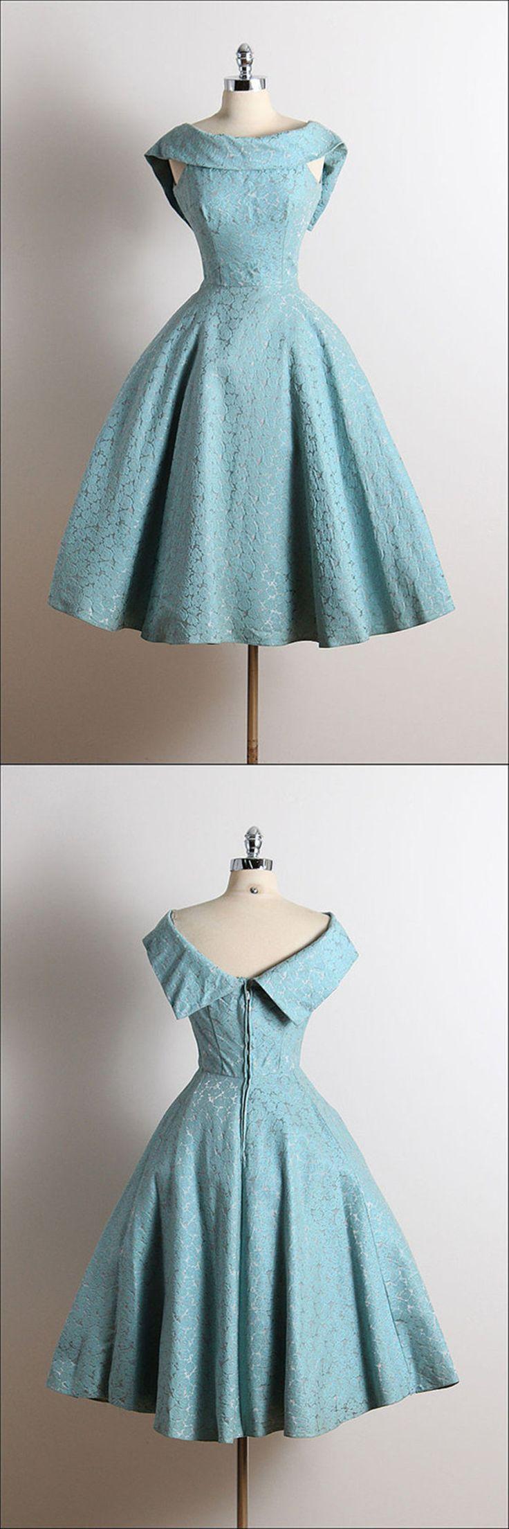 2016 homecoming dress,vintage homecoming dress,1950s homecoming dress,blue…