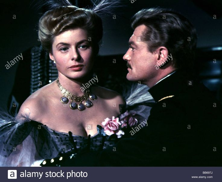 Download this stock image: movie, Paris Does Strange Things (Elena et les hommes), ITA / FRA 1956, director: Jean Renoir, scene with: Ingrid Bergman, Jea - BB697J from Alamy's library of millions of high resolution stock photos, illustrations and vectors.