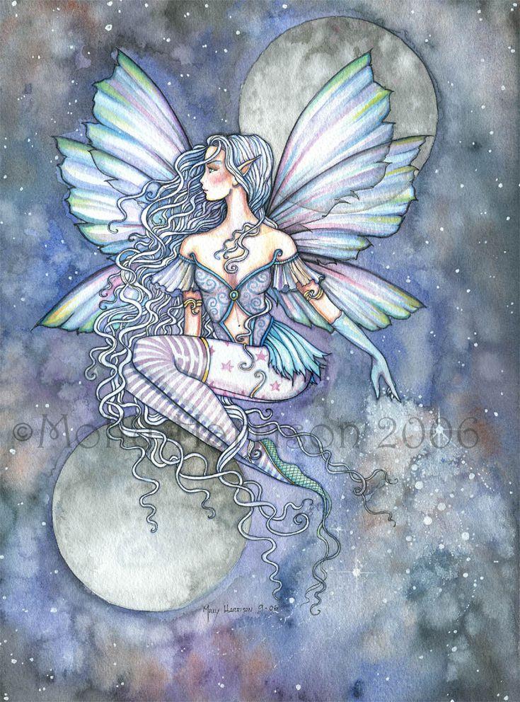 "The Fantasy Art and Fairy Art of Molly Harrison:   ""Levitation through silence"""