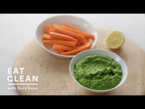 Green Pea and Mint Dip - Eat Clean with Shira Bocar (+playlist)