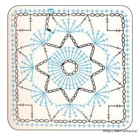 Ideas para el hogar: Almohadón tejido en ganchillo