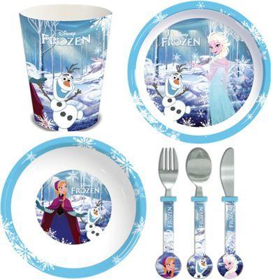 Disney Frozen Children's 6 Piece Dinner Set.