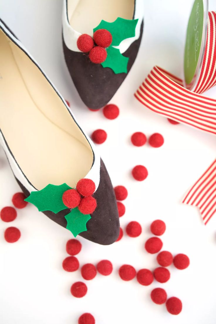 Novelty Christmas Figgy Pudding Flats
