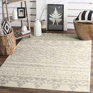 Shop for Safavieh Adirondack Southwestern Ivory / Silver Rug (6' x 9'). Get free shipping at Overstock.com - Your Online Home Decor Outlet Store! Get 5% in rewards with Club O! - 16068760