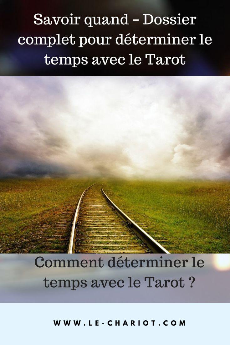 4 Techniques Pour Determiner Le Temps Avec Le Tarot Tarot Les Determinants Tirage Tarot