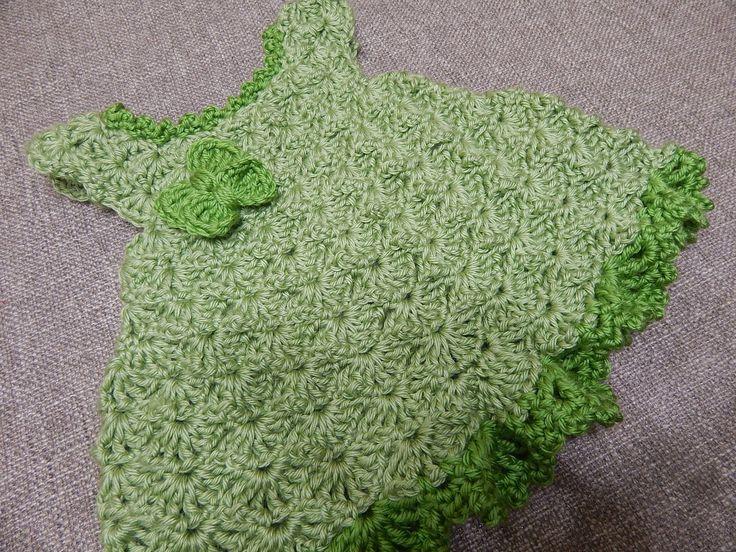 Vestido para bebe paso a paso cualquier tamaño en su hilo y color preferido