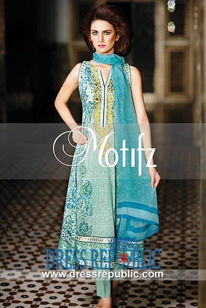 Latest Pakistani Lawn Prints for Eid ul Fitr by Motifz  Buy Online Latest Pakistani Lawn Prints for Eid ul Fitr by Motifz in United Kingdom. Complete Sets in Discounted Wholesale Prices also Available! by www.dressrepublic.com