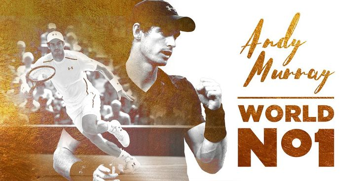 11/5/16 Via British Tennis  ·      Andy Murray is World No.1 #HistoryMaker