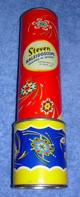1107: 1950's STEVEN'S KALEIDOSCOPE TOY : Lot 1107