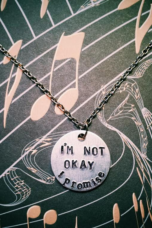 My Chemical Romance I'm Not Okay I Promise by YellowHippoDesigns