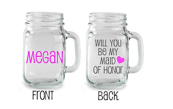 Perfect gifts for my small bridal party.