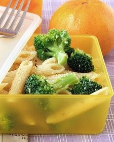 Cooking the pasta and the broccoli together makes this easy salad even easier.