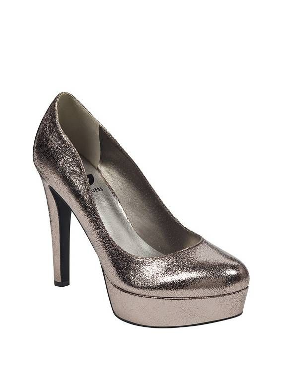 b640d28d5cc Cannor Platform Heel at Guess Nude High Heels