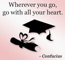 Confucius on graduating