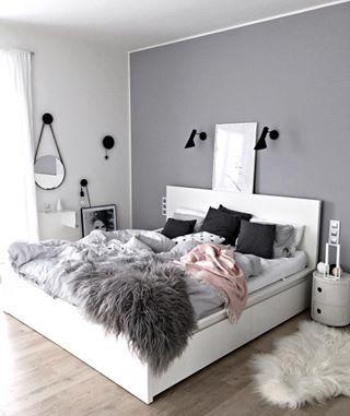 Oui aux couleurs, mais oui aussi à la sobriété qui peut rendre n'importe quelle chambre minimaliste et chic. | 17 chambres douillettes qui font sacrément rêver