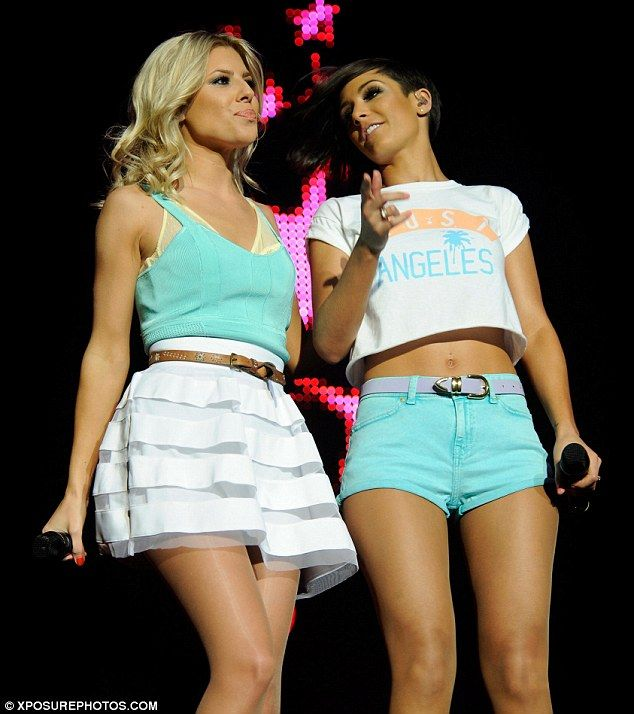 Mollie King & Frankie Sandford from The Saturdays
