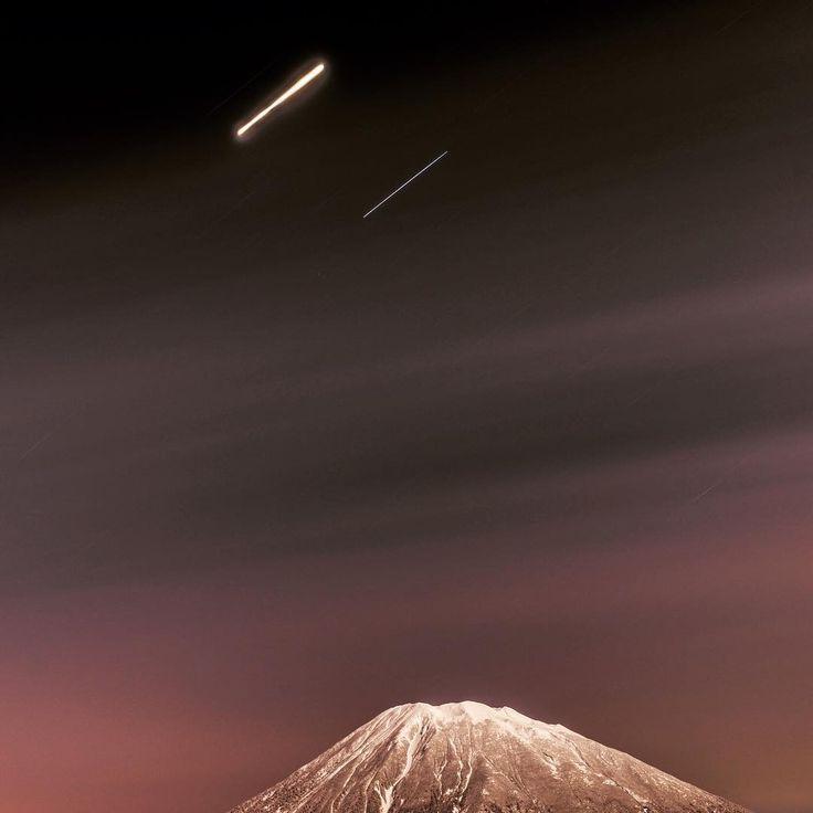 MOUNT YOTEI, HOKKAIDO @zaborin.ryokan #twilight #mtyotei #seeinthedark #clearskies #japanesemountain #niseko #zaborin #ryokan #bathwithaview  | zaborin.com